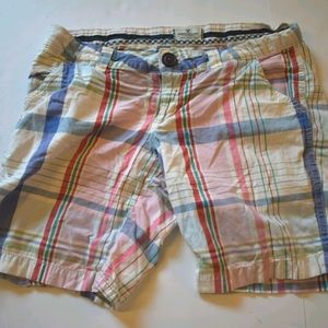 American Eagle Outfitters plaid shorts
